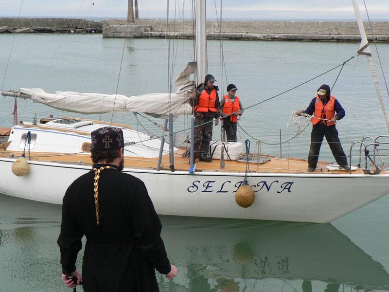 III-й Морской крестный ход на Сахалин 2010