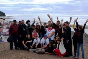 Приморских гостей принял молодежный лагерь в п.Дуэ Александровск-Сахалинского района 2010