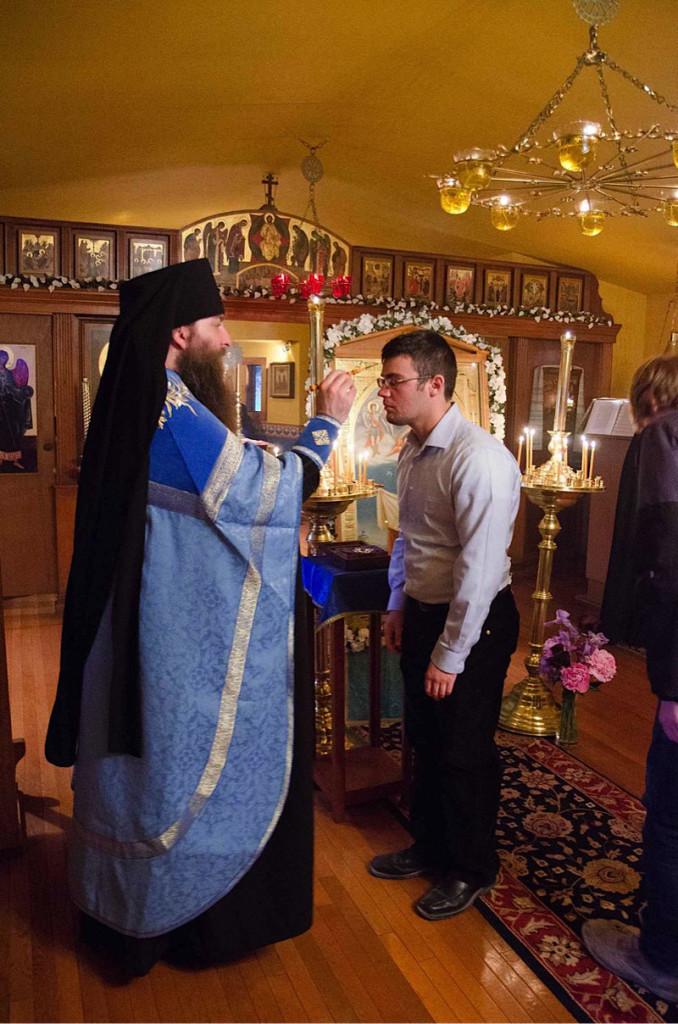 Празднование Порт-Артурской иконы в Крестовоздвиженском монастыре в Зап.Вирджинии, США, 26 мая 2014 г.
