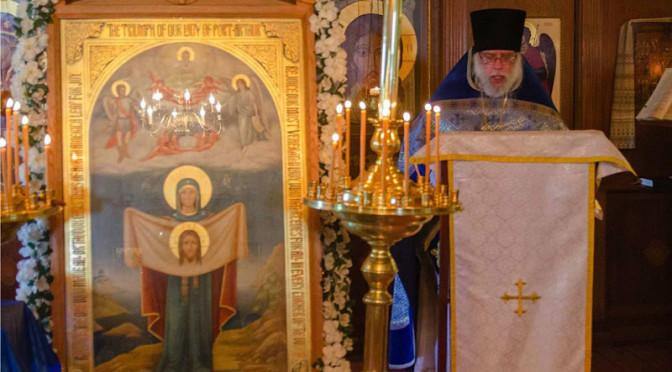 Проповедь архимандрита Серафима о Порт-Артурской иконе в Крестовоздвиженском монастыре в Зап.Вирджинии, США