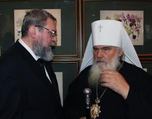 Андрей Хвалин и Владыка Вениамин