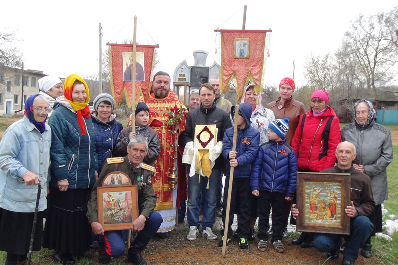 Престольный праздник в Приозёрном в Приморье. Пятница Светлой седмицы 6 мая (день Георгия Победоносца) 2016 г.