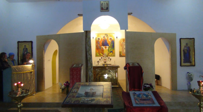 Новый иконостас в хорольском храме