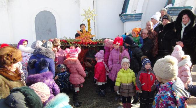 Проповедь о Рождестве детскими устами