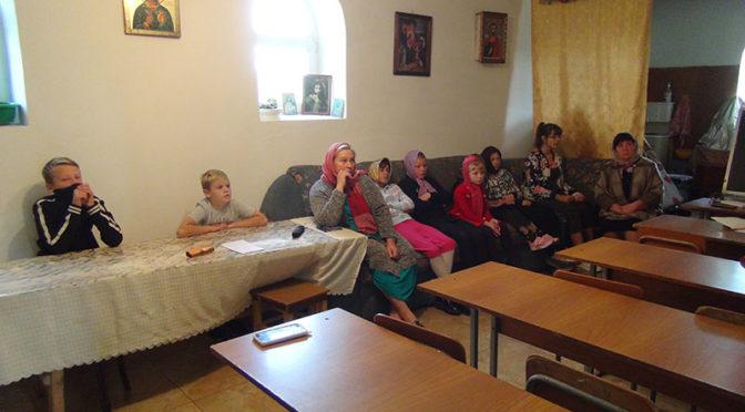 Воскресная школа открылась при храме в Хороле