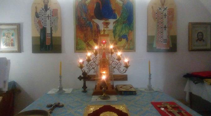 Праздник нашего храма в Хороле