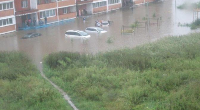 Летняя погода в Приморье